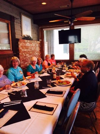 Garden City Steak & Grill: Our Patio Room is perfect for a small party!