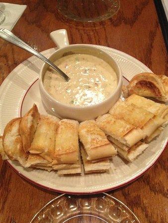 Garden City Steak & Grill: Our famous Crab Dip!