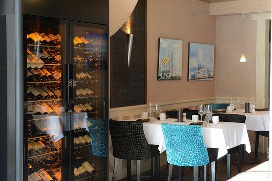 restaurant l'eden : Cave à vin