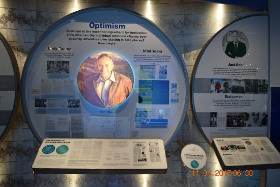 Intel Corp and Museum: the history