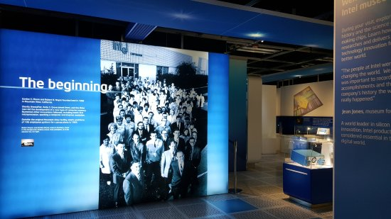 Intel Corp and Museum: beginning of Intel