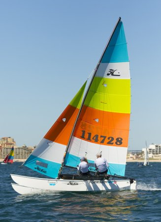 Lancieux, Frankrig: Hobie cat 16
