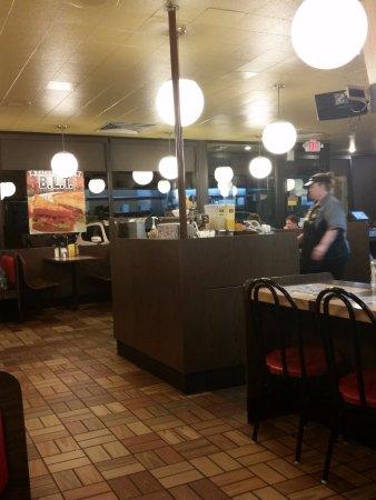 Dalton, GA: Inside eating area