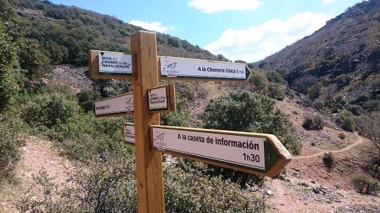 Los Navalucillos, Spanien: Indicadores de dirección...