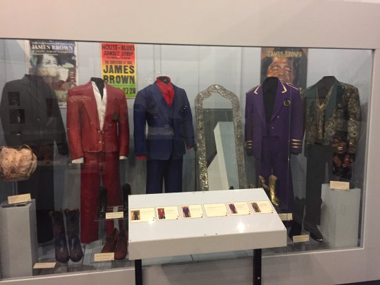 Augusta, GA: James Brown outfits