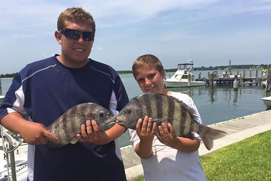 Cedar Point, Caroline du Nord : Fun Fishing for the Whole Family