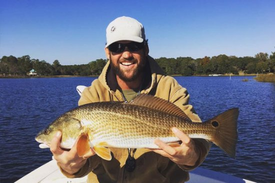 Cedar Point, Caroline du Nord : Capt. Jake with Red Drum