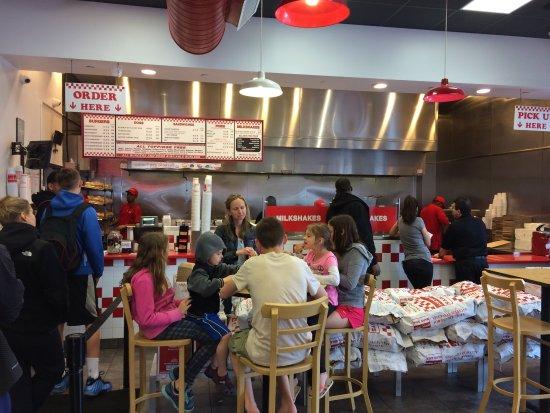 Five Guys Glendale Menu Prices Restaurant Reviews Order