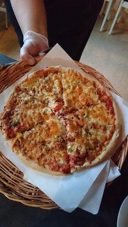 Hornindal, Norwegia: Pizza