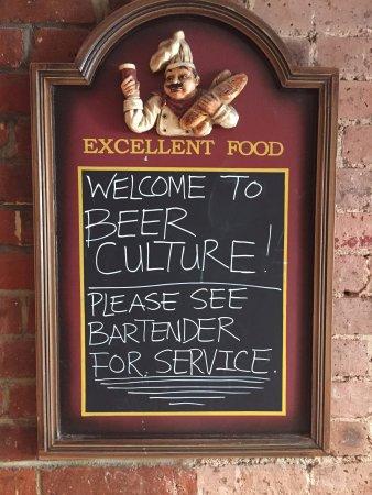Beer Culture : Welcome...