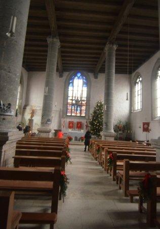 St. Johannis: interno della chiesa