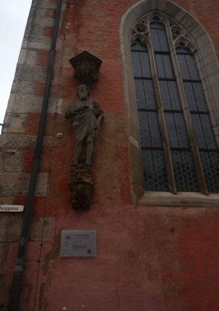 St. Johannis: la chiesa da fuori