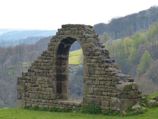Hathersage, UK: Old Chapel ruin