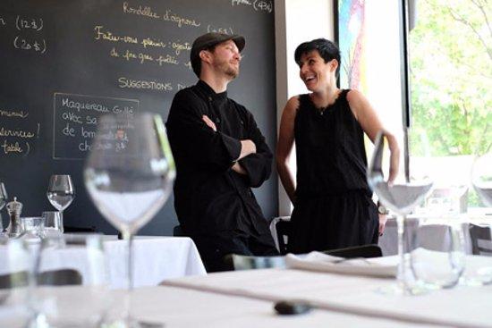 Restaurant Tandem: Le couple propriétaire