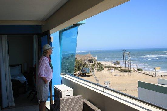 Beach Hotel Swakopmund: Panorama Blick vom Living Room