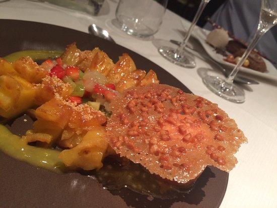 Le Louroux, Francia: Toujours un régal, produits frais cuisinés avec talent