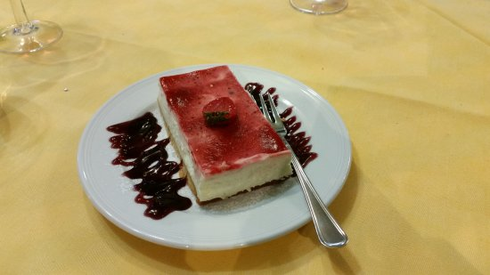 Antico Masetto: Cheesecake