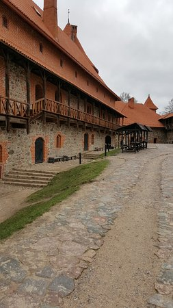 Trakai Historical National Park: Innergården