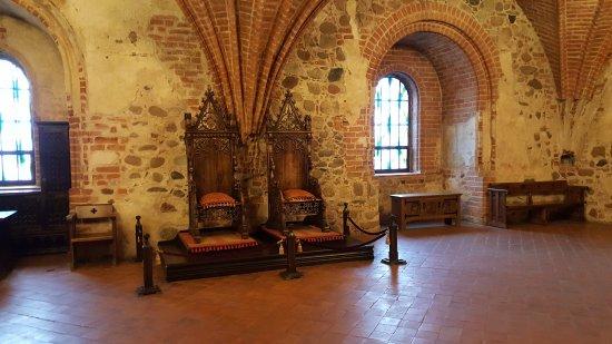 Trakai Historical National Park: Tronen