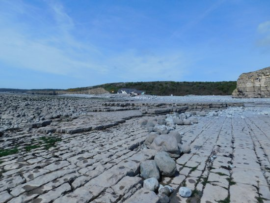 Monknash, UK: Beach at Llantwit Major