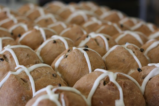 With the Grain: Hot Cross Buns