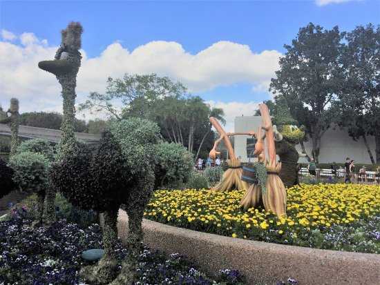 Disney Epcot Flower Garden Festival 2017 Picture Of Epcot Orlando Tripadvisor