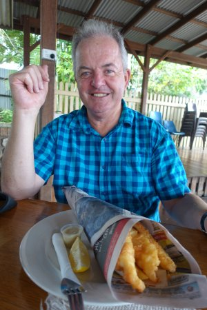 Royal Hotel Herberton: Traditional Aussie Fish and Chips