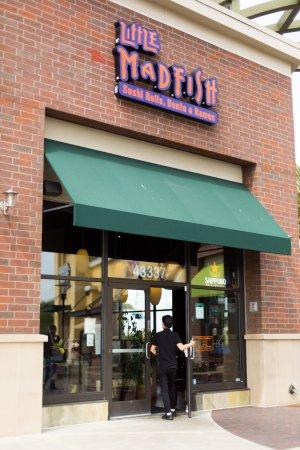 Little madfish for Mad fish restaurant