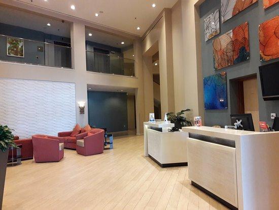Lobby Picture Of Wyndham Anaheim Garden Grove Garden Grove Tripadvisor