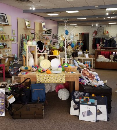 Charleston, WV: Spring set-up just inside the store