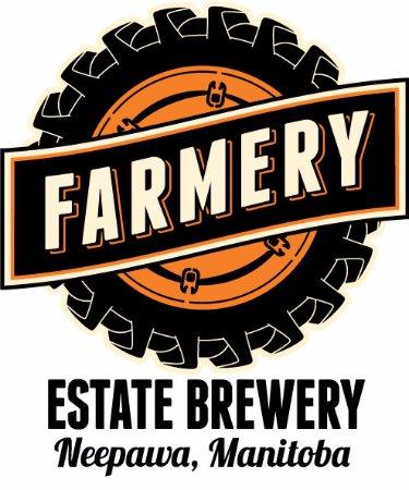Neepawa, Canada: Farmery Estate Brewery Logo