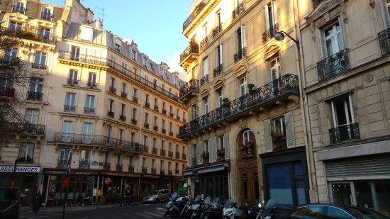 Ibis Styles Paris Cadet Lafayette: Região do Hotel Ibis Paris Styles Cadet Lafayette