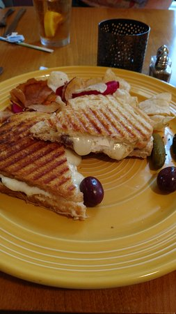 Cafe Azafran : Gourmet Grilled Cheese Sandwich