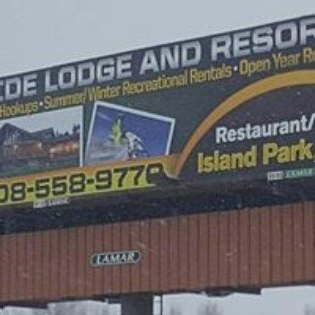 Island Park, Idaho: Billboard