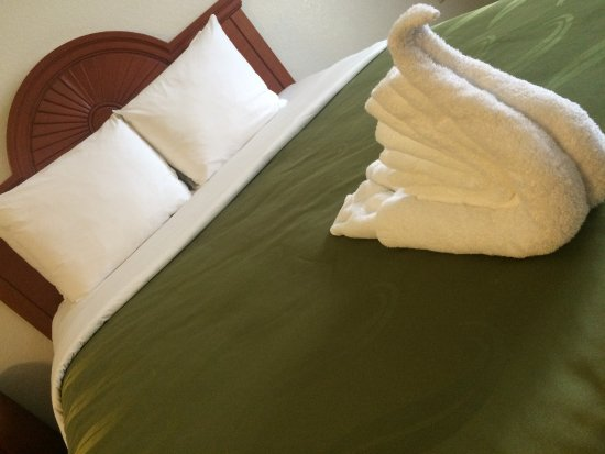 Quality Inn near Fort Riley: Bed Decorations