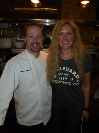 Creve Coeur, MO: Chef Aaron and General Manager Brooke