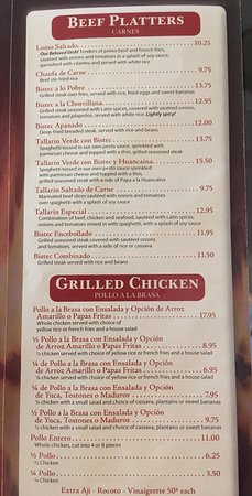 Middletown, DE: Menu