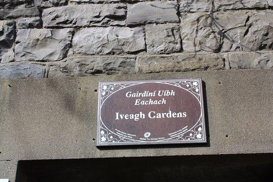 Letrero Iveagh Gardens