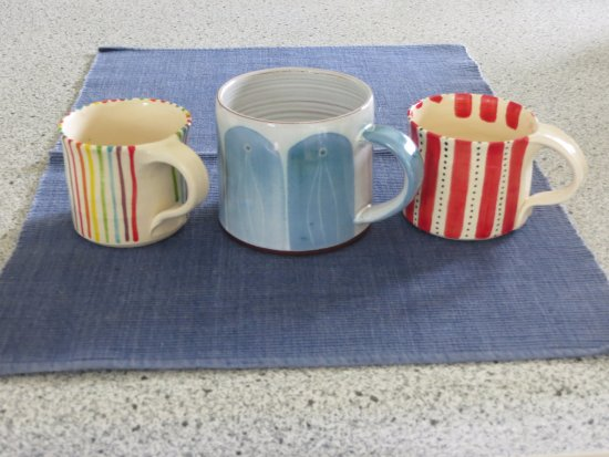 Ardmore, Irland: Some of the Cups/Mugs we bought here