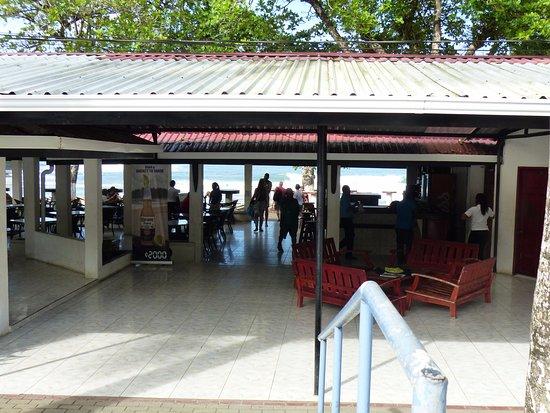 Tortuguero Wildlife Tour: lunch stop near Puerto Limon Costa Rica