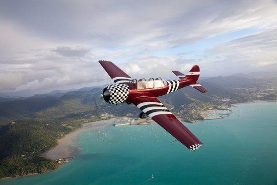 Flametree, Australia: CQ Adventure Flights Yak 52