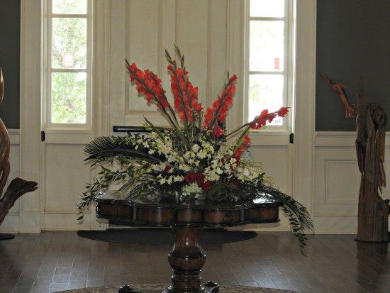 Biloxi Visitors Center: As you walk through the door..