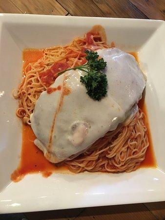 Greer, SC: eggplant Parmesan