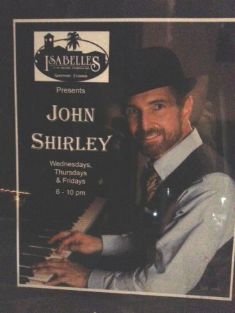 Gulfport, FL: Piano player - John Shirley