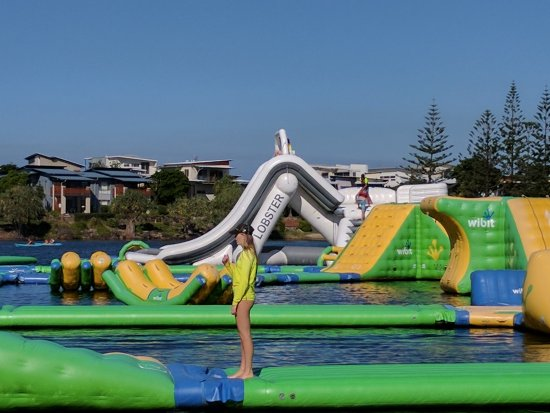 Coolum Beach, Australia: Red Jacket Sunshine Coasts original Aqua Fun Park relocated to Novotel Twin Waters