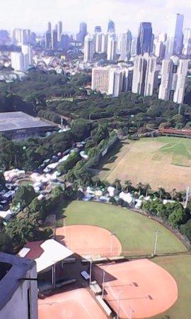 HARRIS Suites FX Sudirman: view dari kamar kami
