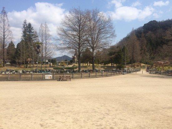 Kasaoka, Japan: 博物館前の庭