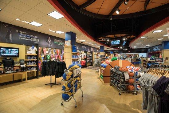 Basketball Hall of Fame : Gift Shop