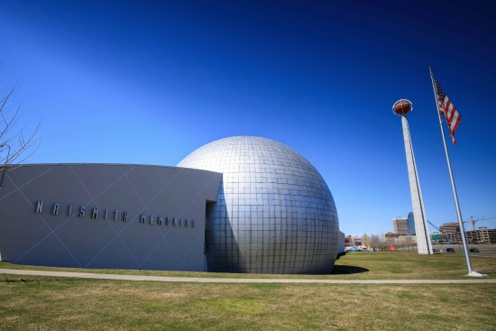 Basketball Hall of Fame : View from Highway