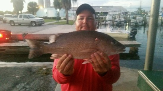 Limit of keepers picture of sea shift fishing charters for Fishing charters fort pierce fl